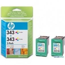 TINTA  HP  INK JET  Nº 343  PACK 2