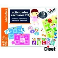 ACTIVIDADES ESCOLARES P3  DISET