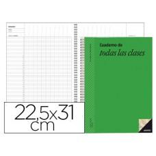 CUADERNO DE TODAS LAS CLASES  ADDITIO  P222