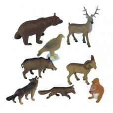 ANIMALES DEL BOSQUE ESTUCHE DE 8 ANIMALES  25126