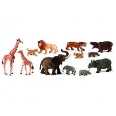 ANIMALES SALVAJES ESTUCHE DE 9 ANIMALES  25119