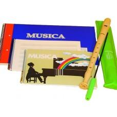 BLOC MUSICA T/C 20 HOJAS 5 PENTAGRA   147.9949