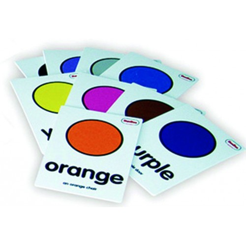 Snap cards juego de colores en ingles henbea for Material de oficina en ingles