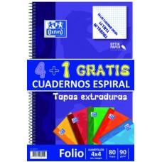 OXFORD  ESPIRAL TAPA EXTRADURA 80 HJ 4X4  PACK 4 +1     400122766
