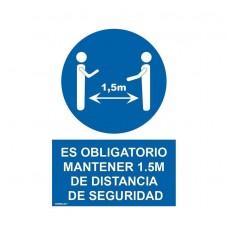 .MANTENER LA DISTANCIA DE SEGURIDAD 1,5M