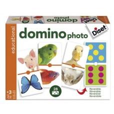 DOMINO PHOTO ANIMALES DISET 63492