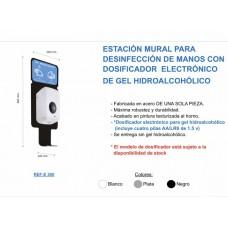 .DOSIFICADOR ELECTRONICO CON SOPORTE DE PARED