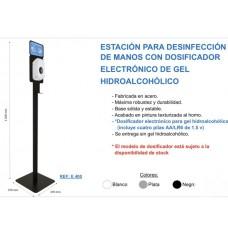.ESTACION PARA DESINFECCION DE MANOS CON DOSIFICADOR ELECTRONICO E400