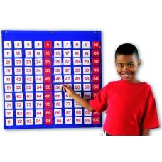 HUNFRED POCKET CHART LEARNING LER2208 ( PANEL 100 CASILLAS)