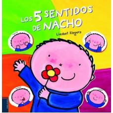 LOS 5 SENTIDOS DE NACHO  EDELVIVES