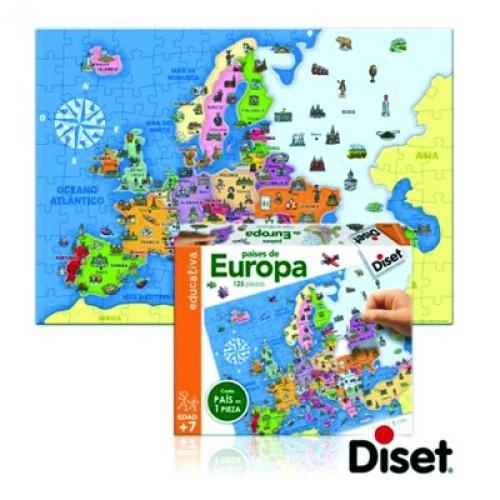 puzzles paises de europa